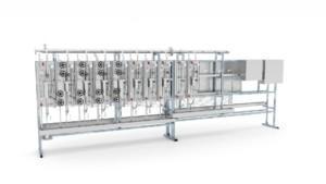 Sintrol steam and water analyzer station